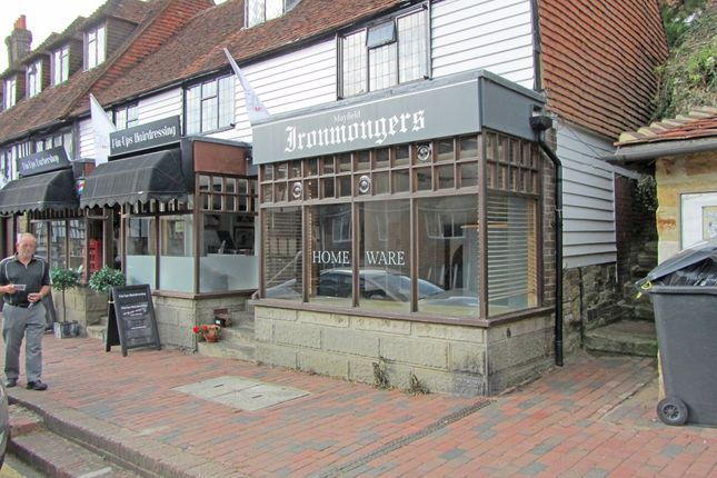 Thumbnail Retail premises to let in Unit 3 Taylors Premises, High Street, Mayfield