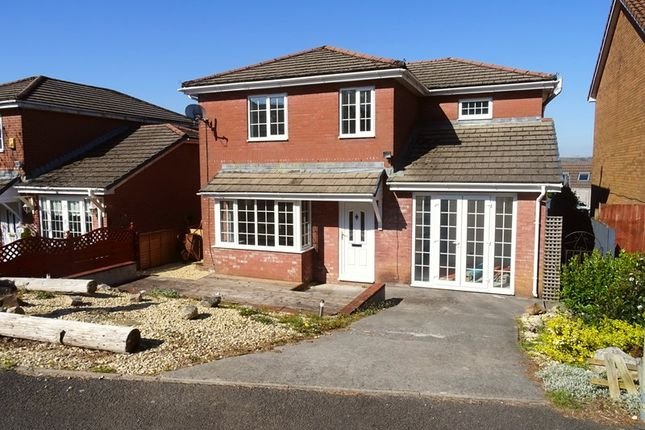 Thumbnail Detached house for sale in Waunbant Court, Clwydyfagwr, Merthyr Tydfil