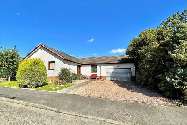 Thumbnail Detached bungalow for sale in 10 Moubray, Naemoor Road, Crook Of Devon, Kinross-Shire