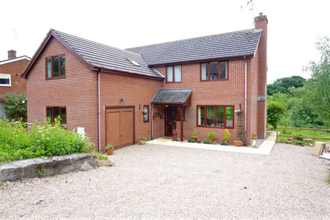 Thumbnail Detached house for sale in Nantmawr, Oswestry