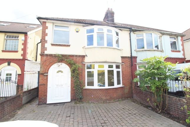 Thumbnail Semi-detached house to rent in Dunstable Road, Luton
