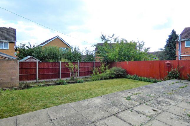 Rear Garden of Danbury Drive, Stadium Estate, Leicester LE4