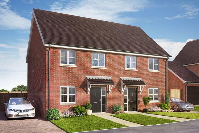Thumbnail Semi-detached house for sale in Skylark Close, Epsom