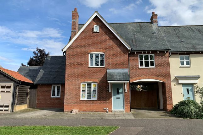 Thumbnail Link-detached house for sale in Greenhaze Lane, Great Cambourne, Cambridge
