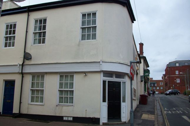 Thumbnail End terrace house to rent in King Street, Exeter