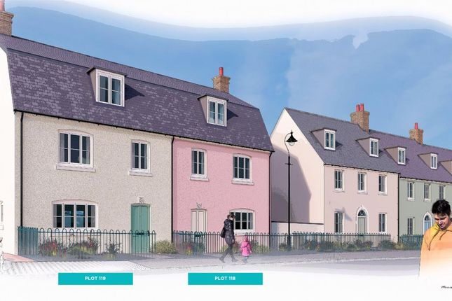 Thumbnail Semi-detached house for sale in Nansledan, Quintrell Road, Newquay, Cornwall
