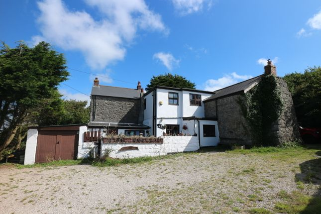 Thumbnail Detached house for sale in Carn Entral, Camborne