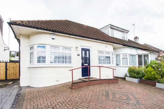 Thumbnail Semi-detached bungalow for sale in Kinloch Drive, Kingsbury