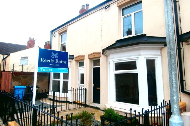Thumbnail Terraced house to rent in Wilton Avenue, Holland Street, Hull