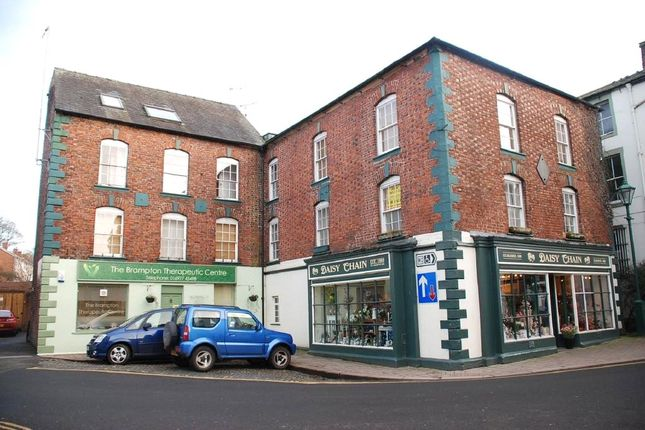 Thumbnail Maisonette for sale in Flat 5, Jackson Court, High Cross Street, Brampton, Carlisle