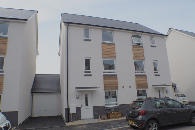 Thumbnail Town house to rent in Tonnant Road, Copper Quarter, Swansea