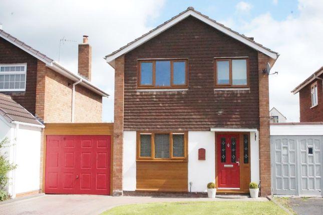 Thumbnail Detached house to rent in Caspian Way, Wheaton Aston, Stafford