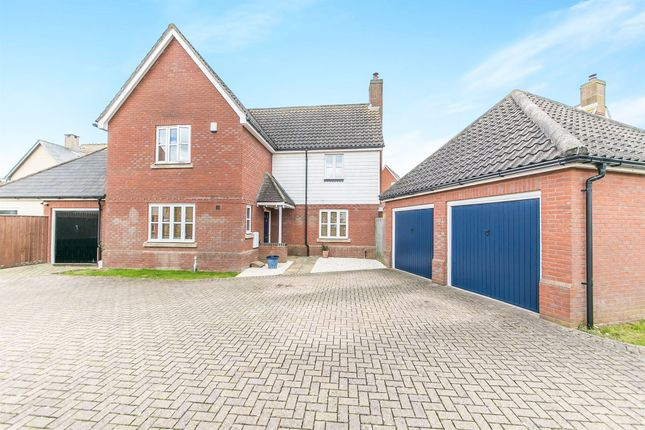 Thumbnail Detached house for sale in Bilberry Road, Ipswich