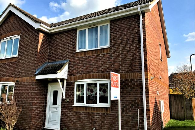 Thumbnail Semi-detached house to rent in Meadowbrook, Ruskington