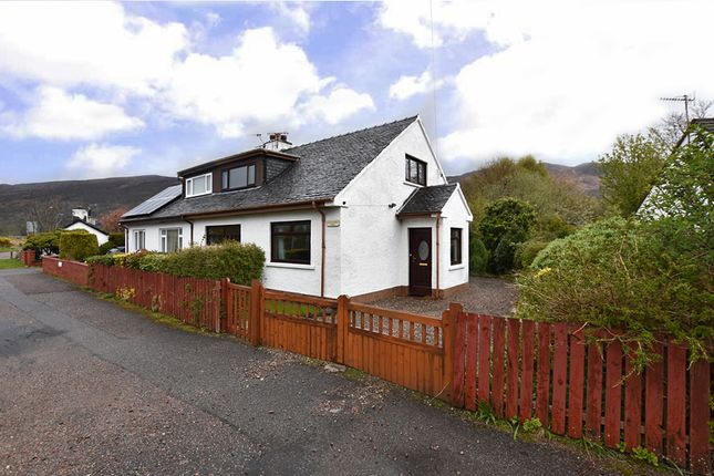 Thumbnail Semi-detached house for sale in Old Ferry Road, North Ballachulish