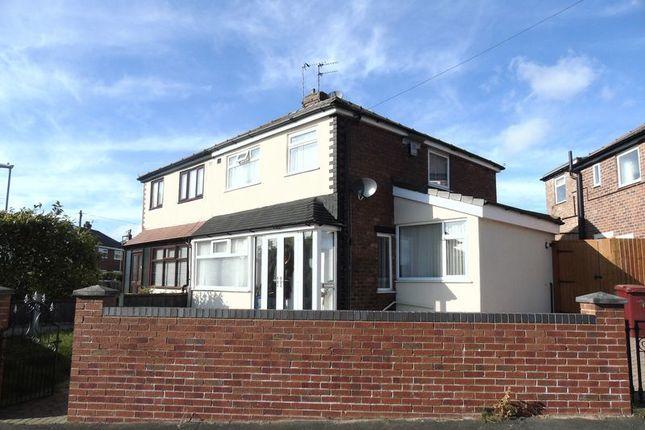 Thumbnail Semi-detached house to rent in Poplar Grove, Whiston, Prescot