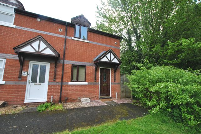 Thumbnail End terrace house for sale in Stonebridge Close, Aqueduct, Telford