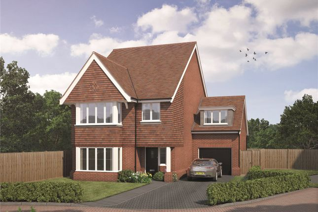 Thumbnail Detached house for sale in Old Bisley Road, Frimley, Camberley, Surrey