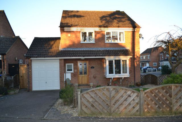 Thumbnail Detached house for sale in Becket Way, Spinney Hill, Northampton