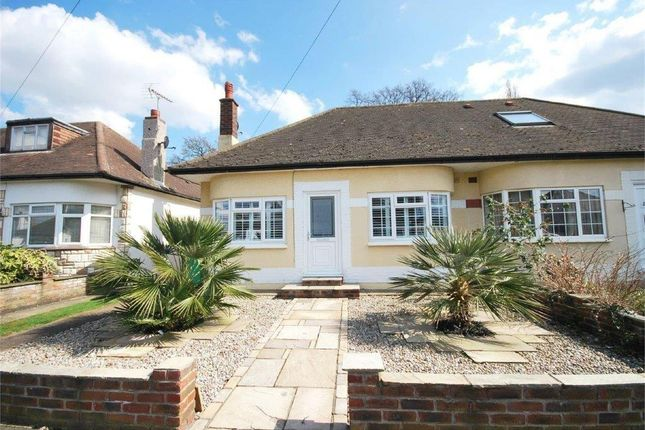 Thumbnail Bungalow to rent in Rosecroft Gardens, Twickenham