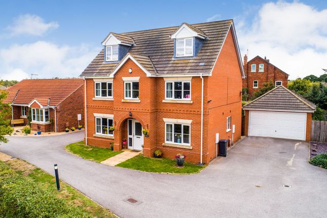 Thumbnail Detached house for sale in Post Mill Close, Lincoln