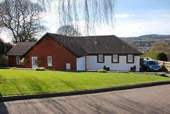 Detached bungalow for sale in Brownlands Road, Sidmouth