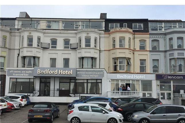 Thumbnail Hotel/guest house for sale in The Bedford Hotel, 298-300, Promenade, Blackpool, Lancashire, UK