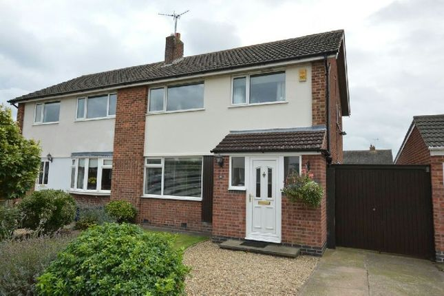 Thumbnail Semi-detached house for sale in Bingley Road, Littlethorpe, Leicester