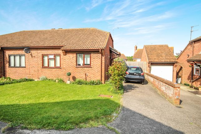 Thumbnail Semi-detached bungalow for sale in Nightingale Close, Colchester