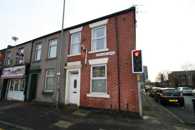 Thumbnail Terraced house to rent in Spotland Road, Rochdale