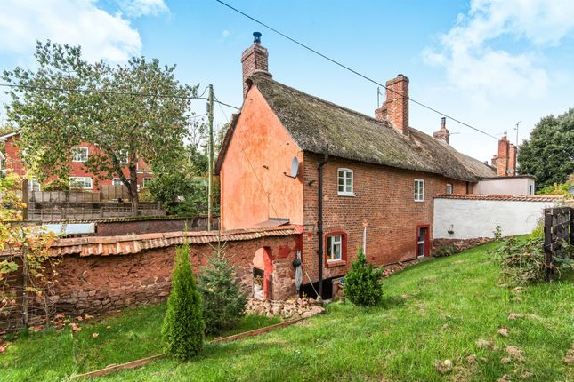 Thumbnail End terrace house for sale in Exeter Road, Crediton
