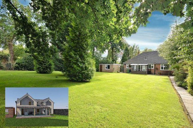Thumbnail Detached bungalow for sale in Woodland Avenue, Lymm