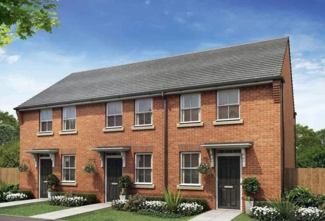 Thumbnail End terrace house for sale in Abbey Gate, Woodrow Drive, Redditch, Worcestershire