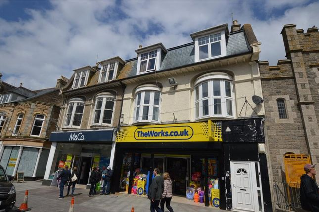 Thumbnail Flat for sale in Bank Street, Newquay, Cornwall