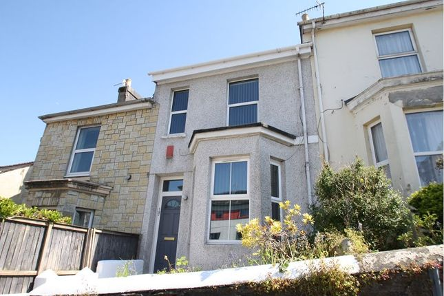 Thumbnail Terraced house to rent in Westhill Road, Mutley, Plymouth