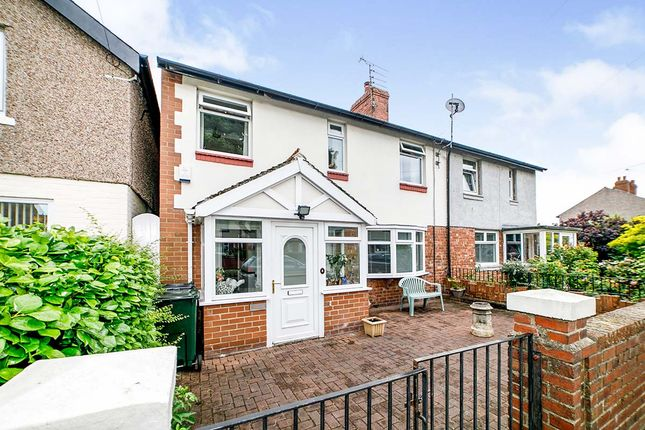 Thumbnail Semi-detached house for sale in Whitley Road, Wellfield, Whitley Bay, Tyne And Wear
