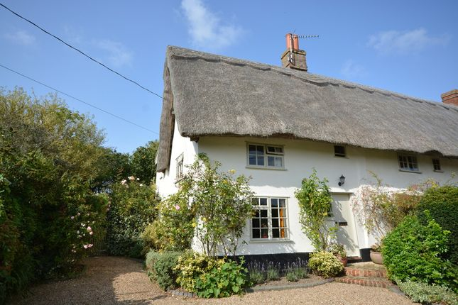 Thumbnail Semi-detached house for sale in Long Green, Wortham, Diss