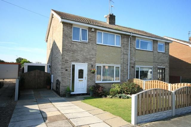 Thumbnail Semi-detached house to rent in Bretby Close, Cantley, Doncaster