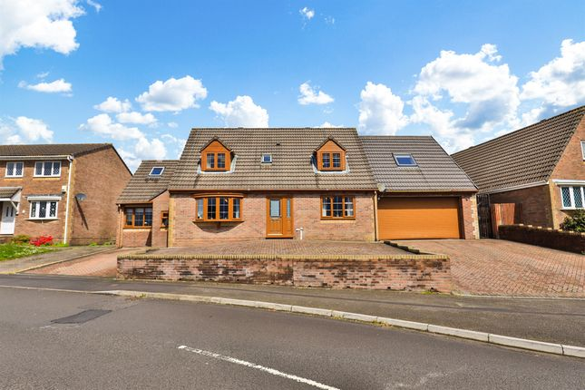 Thumbnail Detached house for sale in Heol Cwarrel Clark, Caerphilly