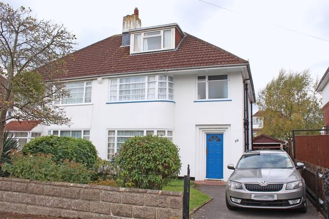 Thumbnail Semi-detached house for sale in Shanklin Road, Shirley, Southampton