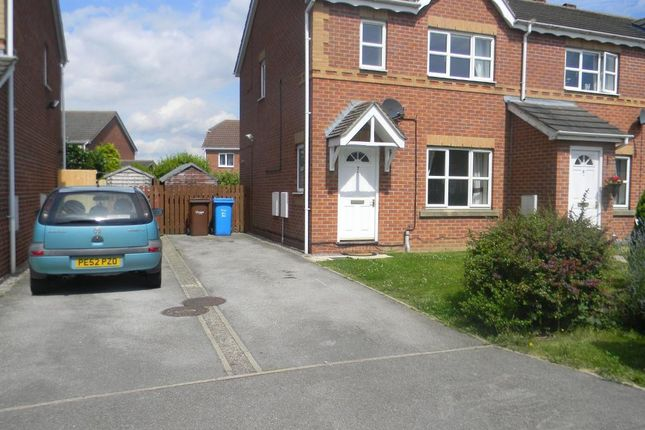 Thumbnail Semi-detached house to rent in Sailors Wharf, Victoria Dock, Hull