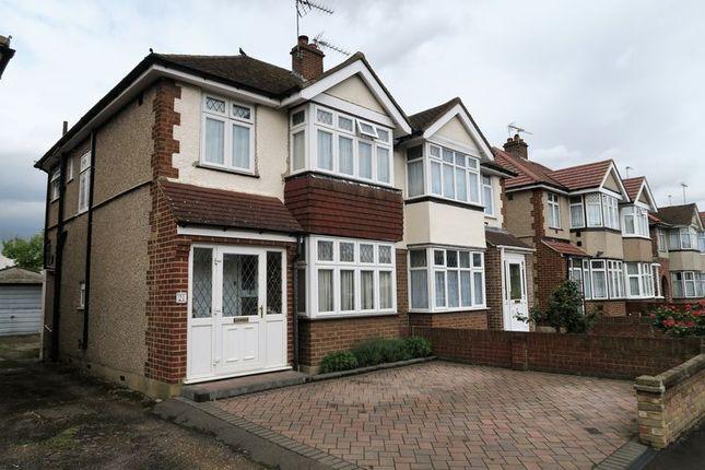 Thumbnail Semi-detached house for sale in Carlton Avenue, Feltham