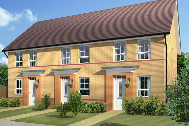 "Thumbnail Semi-detached house for sale in ""Ashford"" at Warkton Lane, Barton Seagrave, Kettering"