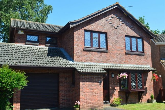 Thumbnail Detached house for sale in Fryers Road, Three Legged Cross, Dorset