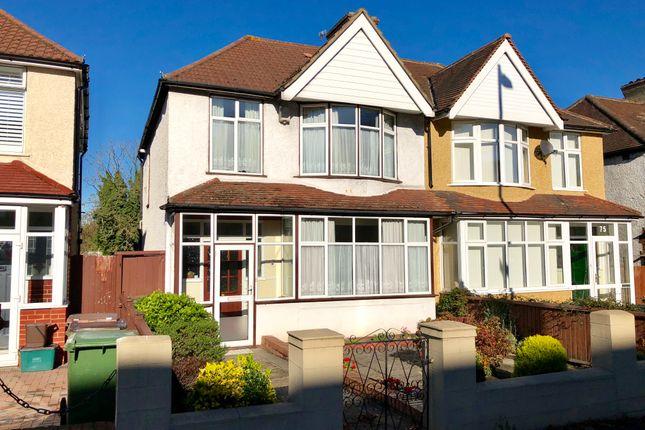 Thumbnail Semi-detached house for sale in Acre Lane, Wallington