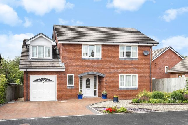 Thumbnail Detached house for sale in Crossgates, Llandrindod Wells