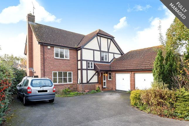 Thumbnail Detached house to rent in Bedfordshire Down, Warfield, Berkshire