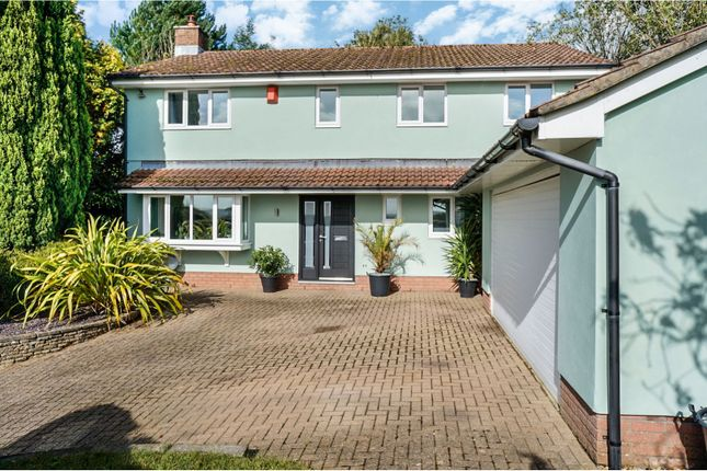 Thumbnail Detached house for sale in Llantrisant Road, Groesfaen, Pontyclun