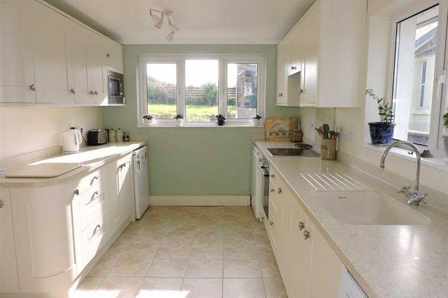 Thumbnail Detached bungalow for sale in Carmarthen Road, Cross Hands, Llanelli
