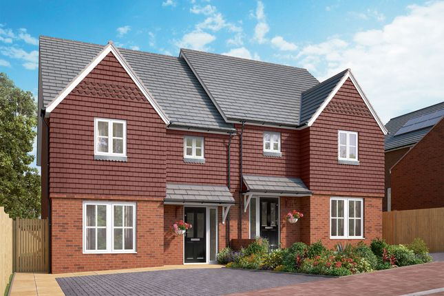 Thumbnail Semi-detached house for sale in London Road, Westerham